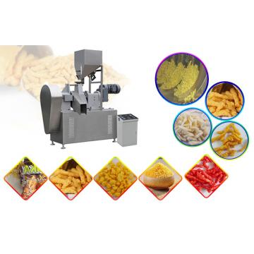 Low Consumption 65kw No Pollution Kurkure Making Machine For Snack Food