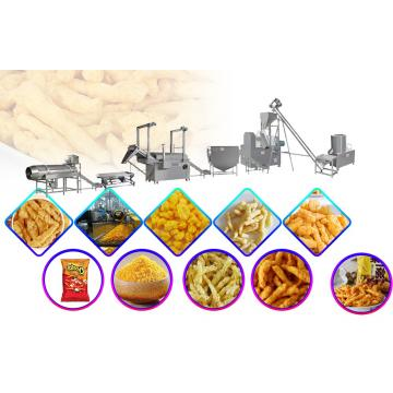Self Cleaning Kurkure Making Machine With Low Cost High Output