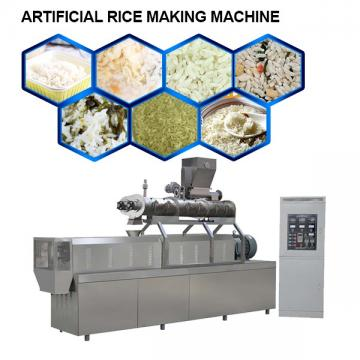 Stainless Steel Full Automatic Artificial Rice Making Machine For Nutrition Rice