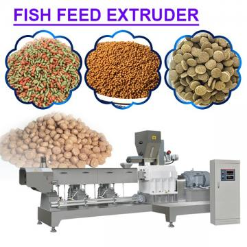 Simple Structure Automatic Fish Feed Extruder Machine With Long Service Life