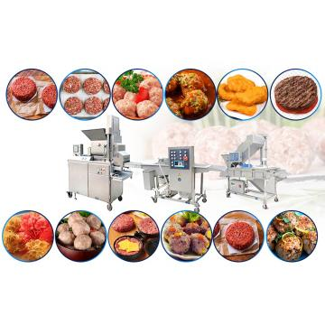 70kw Beautiful And Durable Chicken Breading Machine With Continuous Production