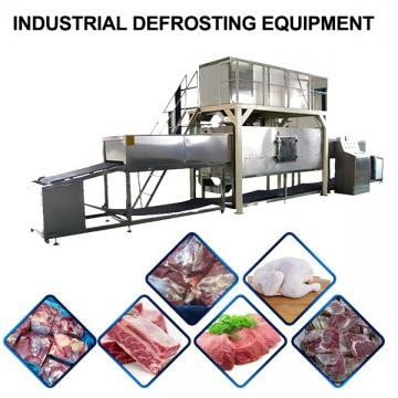 Full Automatic Stainless Steel Industrial Defrosting Equipment ,Food Thawing Machine