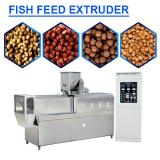 High Automatic Fish Feed Extruder With Wheat Bran As Raw Materials
