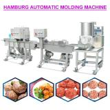 220v High Capacity Automatic Hamburger Forming Machine With Touch Screen