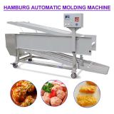 Fast 304 Stainless Steel Automatic Hamburger Forming Machine For Minced Products